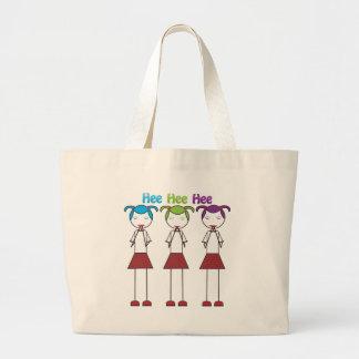 Anime Japanese Girls Giggling Tote Bag