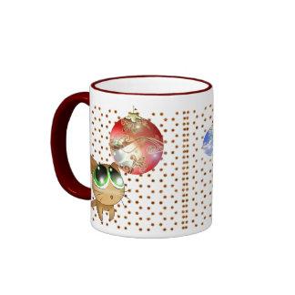 Anime Kitty Holiday Mug