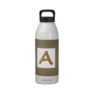 Anime la excelencia Imagen de oro del premio del Botella De Agua Reutilizable