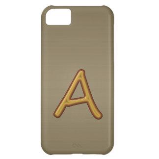 Anime la excelencia: Imagen de oro del premio del  Carcasa Para iPhone 5C
