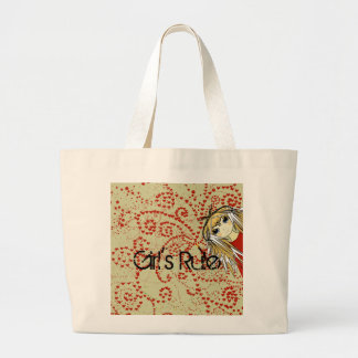 Anime Love- - Customized Large Tote Bag