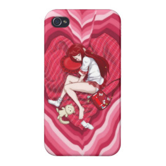 Anime Lovely Dreams iPhone 4/4S Cases