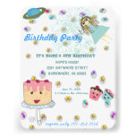 Anime Magical Days Invitation  Birthday Party