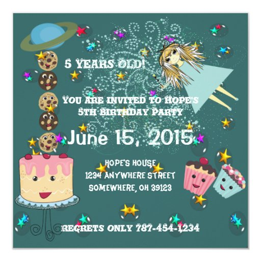 Anime Magical Days Invitation  Birthday T-Shirts,