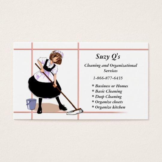 Anime Maid Business Card
