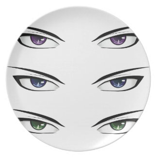 Anime male eyes2 plates