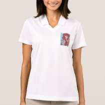 Anime Mermaid Catfist Art Print Polo Shirt