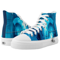 Anime Millenium A.I. Custom Collector Zipz High-Top Sneakers
