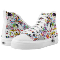 Anime mix High-Top sneakers