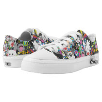Anime mix Low-Top sneakers