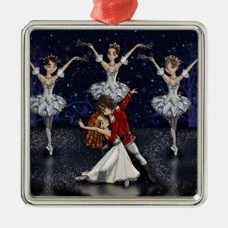 Anime Nutcracker Snowflakes Ornament