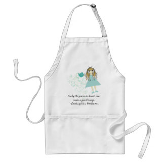 Anime~Only the pure in heart can make a good soup Adult Apron