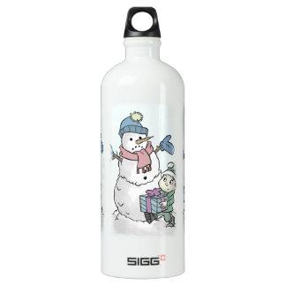 Anime para arriba al muñeco de nieve
