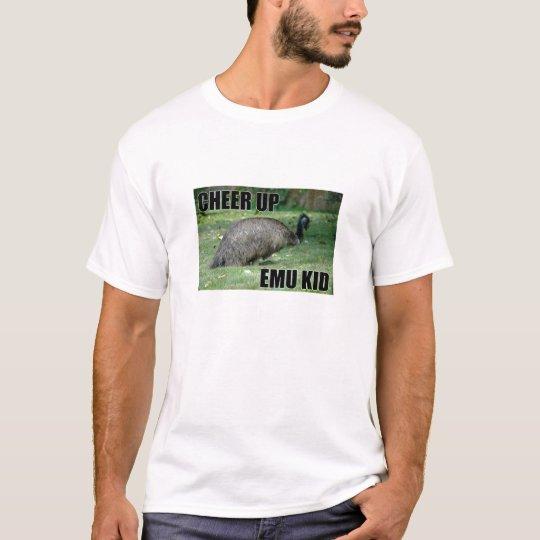 Anime para arriba la camiseta del niño del Emu