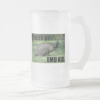 Anime para arriba la taza del niño del Emu