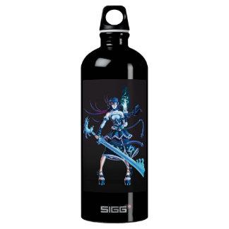 Anime Pirate Girl Aluminum Water Bottle