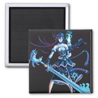 Anime Pirate Girl Fridge Magnet