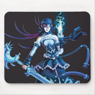 Anime Pirate Girl Mouse Pad