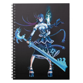 Anime Pirate Girl Notebook