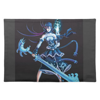 Anime Pirate Girl Placemat