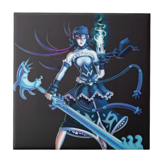 Anime Pirate Girl Tile