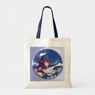 Anime Pirate Porthole Tote Bags