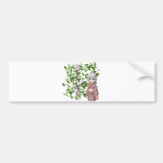 Anime - Poetry to greenery Bumper Sticker