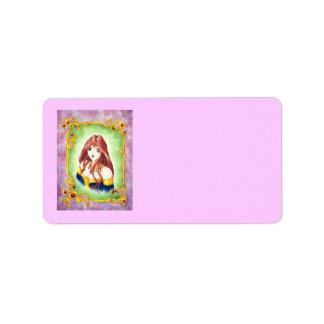 Anime Princess Label