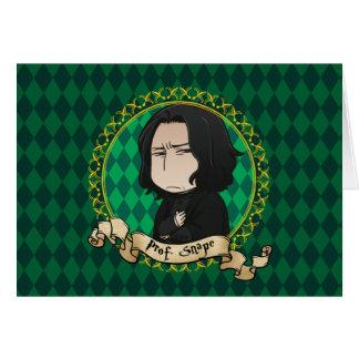 Anime Professor Snape Card