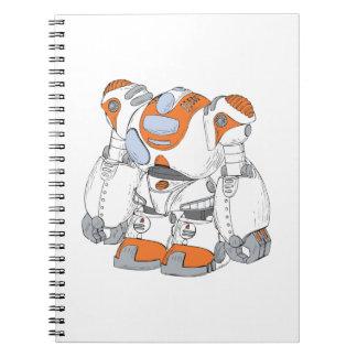 Anime Robot Note Books