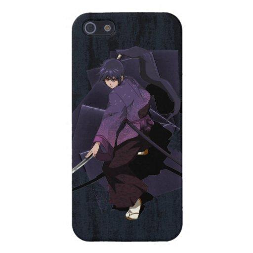 Anime Samurai - Violet Ebony Covers For iPhone 5