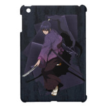 Anime Samurai - Violet Ebony iPad Mini Case