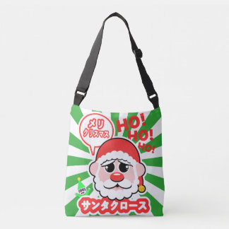 Anime Santa Christmas Crossbody Bag