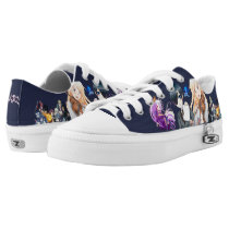 ANIME SHOHE Low-Top SNEAKERS
