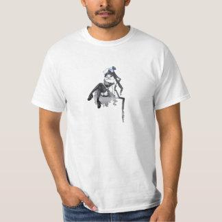 Anime Skull Ghost Lady T-Shirt