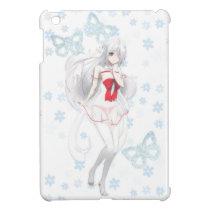 Anime Spirit Girl - On White iPad Mini Case