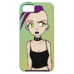 Anime Style Germaine iPhone 5 Case