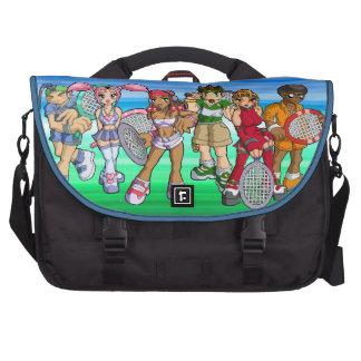 Anime Tennis Characters Computer Bag