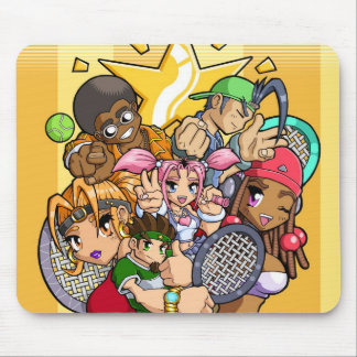 Anime Tennis Characters Mouse Pad