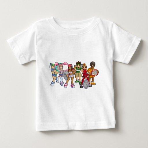 Anime Tennis Characters T-shirt