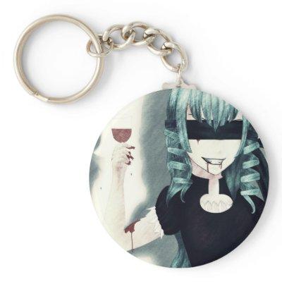 cute anime vampire girl. Anime vampire girl keychain by