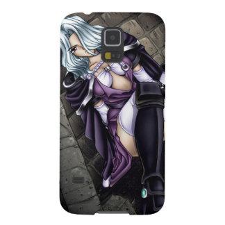 Anime Warrior Girl Galaxy S5 Case