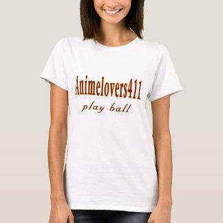 Animelovers411 Baseball games T-Shirt