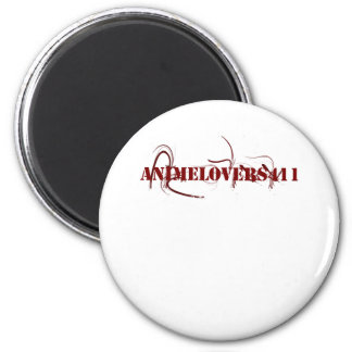 Animelovers411 Punk Out Magnet