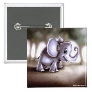 ANIML0018 Elephant Calf Button