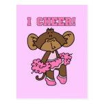 Animo las camisetas y los regalos rosados postales