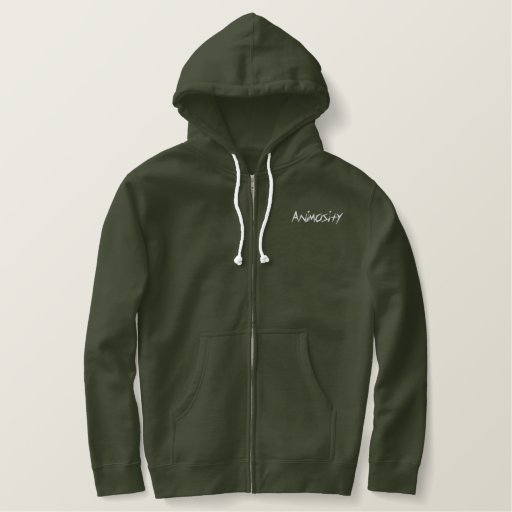 Animosity Embroidered Hoodie