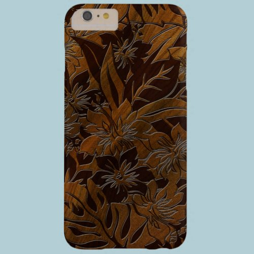 Anini Beach Faux Wood Hawaiian Barely There iPhone 6 Plus Case
