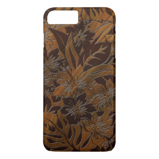 Anini Beach Faux Wood Hawaiian iPhone 7 Plus Case