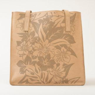 Anini Beach Hibiscus Floral Beach Bag